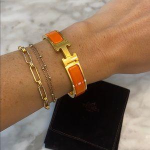 Hermes Clic H Bracelet - 100% Authentic